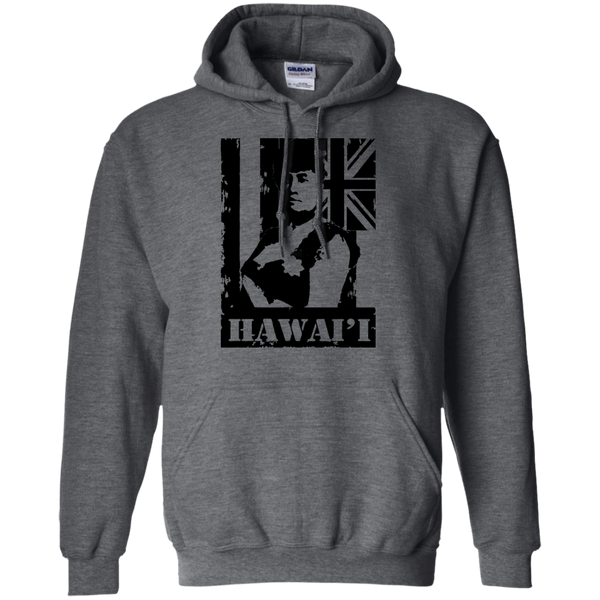 Hawai'i Queen Liliuokalani Pullover Hoodie, Sweatshirts, Hawaii Nei All Day