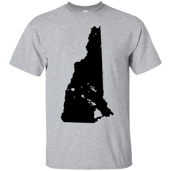 Living in New Hampshire with Hawaii Roots Ultra Cotton T-Shirt, T-Shirts, Hawaii Nei All Day