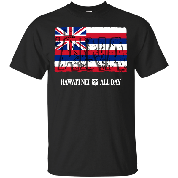 ʻĀina Hawai'i Nei Ultra Cotton T-Shirt, T-Shirts, Hawaii Nei All Day