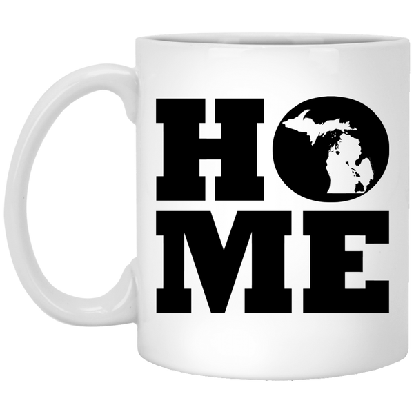 Home Roots Hawai'i and Michigan White Mug, Apparel, Hawaii Nei All Day