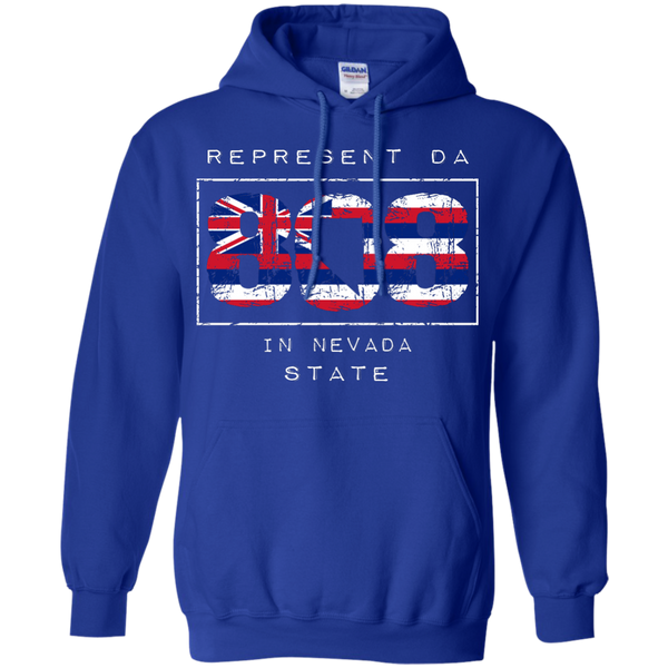 Represent Da 808 In Nevada State Pullover Hoodie 8 oz, Hoodies, Hawaii Nei All Day, Hawaii Clothing Brands