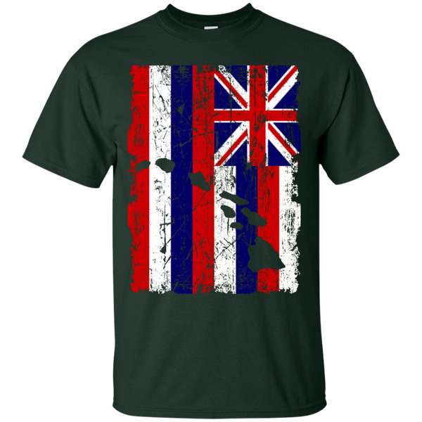 Hawaii - The Aloha State Youth Custom Ultra Cotton Tee, T-Shirts, Hawaii Nei All Day, Hawaii Clothing Brands
