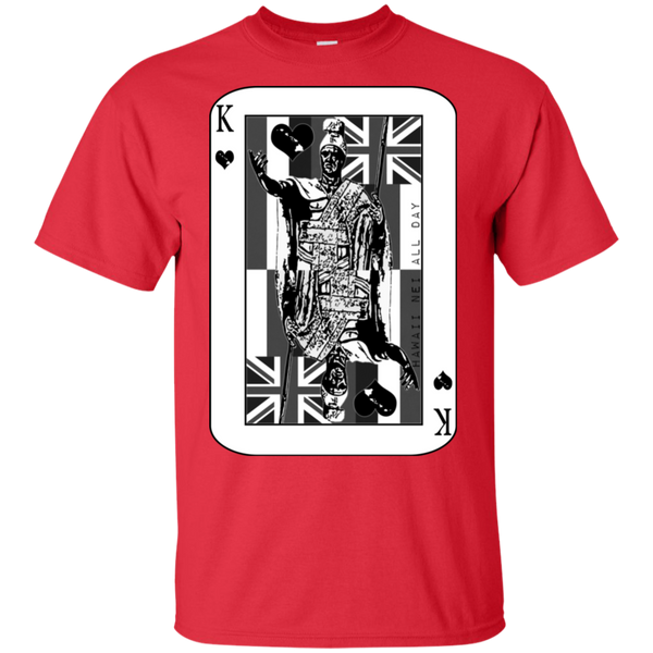 The King of Hawai'i Kamehameha (black ink) Ultra Cotton T-Shirt, T-Shirts, Hawaii Nei All Day