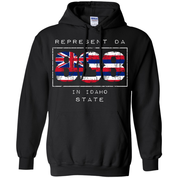 Represent Da 808 In Idaho State Pullover Hoodie, Sweatshirts, Hawaii Nei All Day