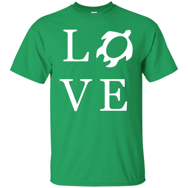 Honu LOVE Ultra Cotton T-Shirt, Short Sleeve, Hawaii Nei All Day