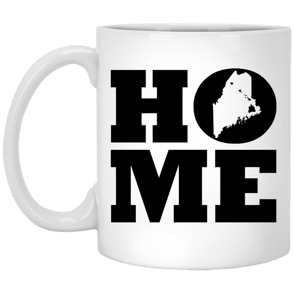 Home Roots Hawai'i and Maine White Mug, Apparel, Hawaii Nei All Day