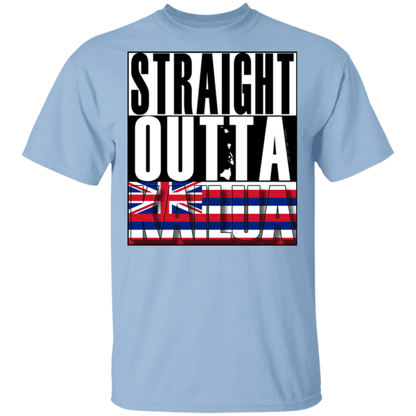 Straight Outta Kailua T-Shirt, T-Shirts, Hawaii Nei All Day