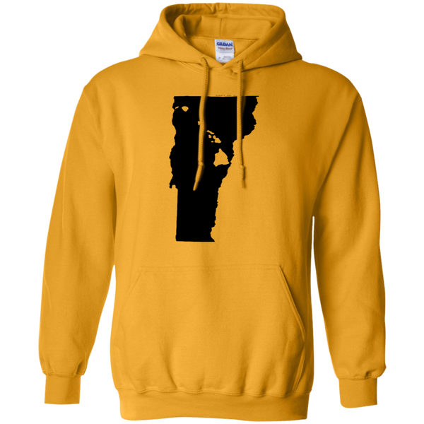 Living in Vermont with Hawaii Roots Pullover Hoodie 8 oz., Sweatshirts, Hawaii Nei All Day, Hawaii Clothing Brands