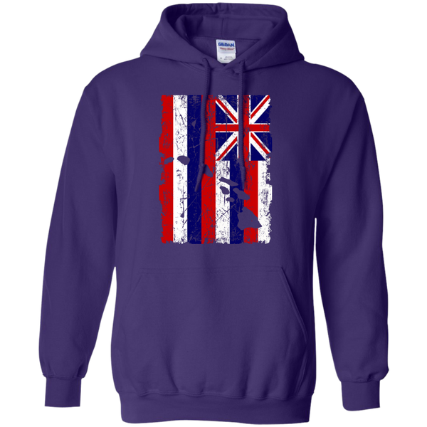 Hawaii - The Aloha State Pullover Hoodie 8 oz, Hoodies, Hawaii Nei All Day, Hawaii Clothing Brands