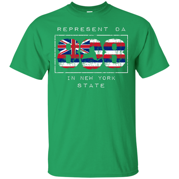 Represent Da 808 In New York State Ultra Cotton T-Shirt, T-Shirts, Hawaii Nei All Day, Hawaii Clothing Brands