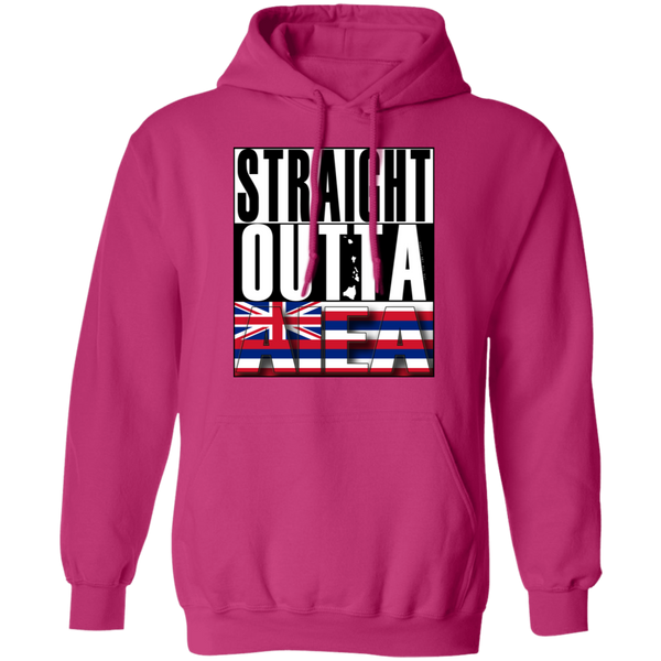 Straight Outta Aiea Pullover Hoodie, Sweatshirts, Hawaii Nei All Day