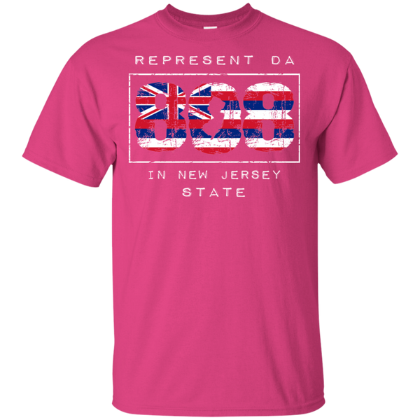 Rep Da 808 In New Jersey State Ultra Cotton T-Shirt, T-Shirts, Hawaii Nei All Day