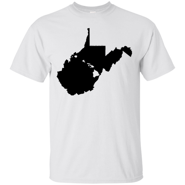 Living in West Virginia with Hawaii Roots Ultra Cotton T-Shirt, T-Shirts, Hawaii Nei All Day