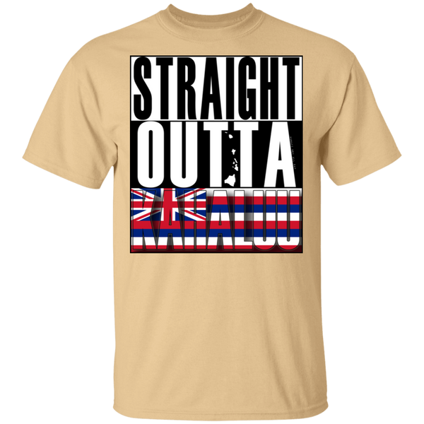 Straight Outta Kahaluu Hawai'i Ultra Cotton T-Shirt, T-Shirts, Hawaii Nei All Day