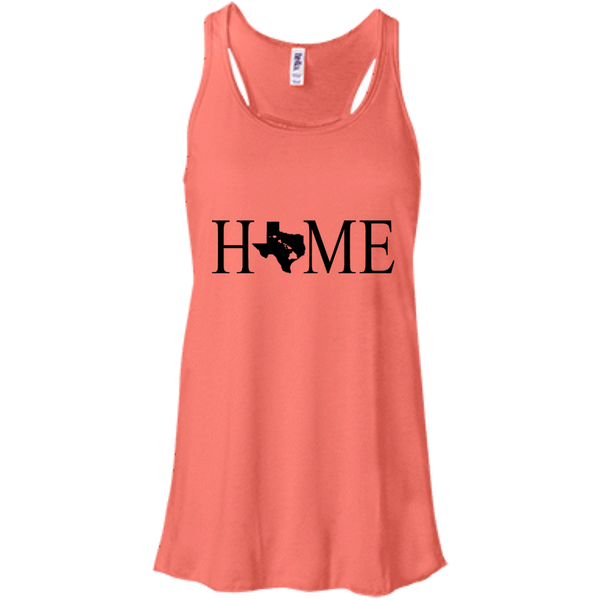 Home Hawaii & Texas Bella + Canvas Flowy Racerback Tank, T-Shirts, Hawaii Nei All Day