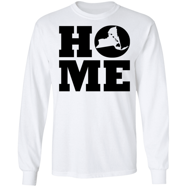 Home Roots Hawai'i and New York  LS T-Shirt