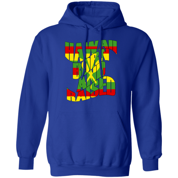 Hawaii Born and Raised Kanaka Maoli Pullover Hoodie, Sweatshirts, Hawaii Nei All Day