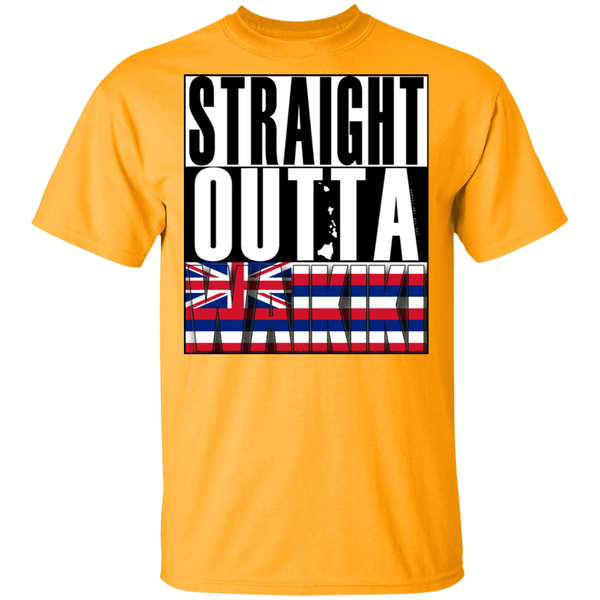 Straight Outta Waikiki T-Shirt, T-Shirts, Hawaii Nei All Day