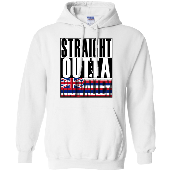 Straight Outta Niu Valley Hawai'i Pullover Hoodie, Sweatshirts, Hawaii Nei All Day
