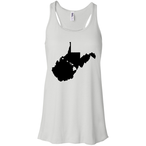 Living in West Virginia with Hawaii Roots Bella + Canvas Flowy Racerback Tank, T-Shirts, Hawaii Nei All Day, Hawaii Clothing Brands