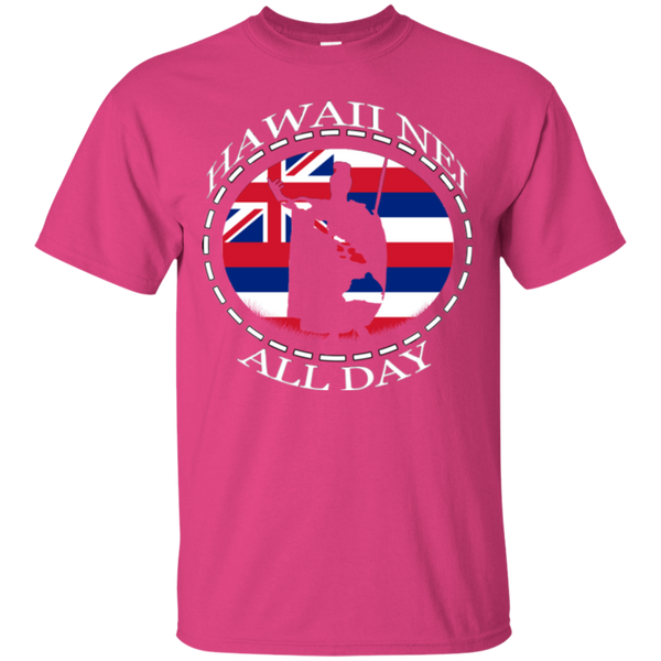 The Rising Sun Ultra Cotton T-Shirt - Hawaii Nei All Day