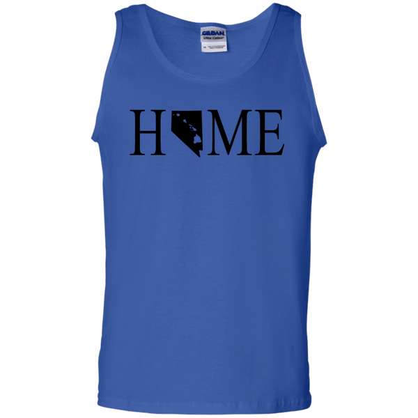 Home Hawaii & Nevada 100% Cotton Tank Top, T-Shirts, Hawaii Nei All Day, Hawaii Clothing Brands