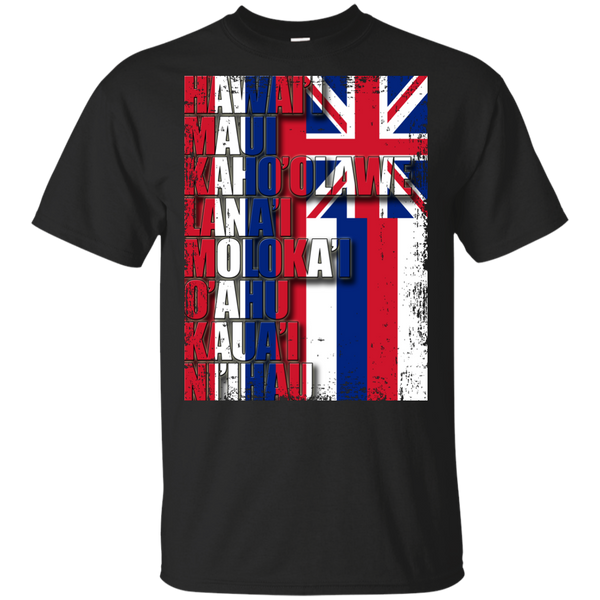 Hawaiian Island Pride Youth Ultra Cotton T-Shirt, T-Shirts, Hawaii Nei All Day