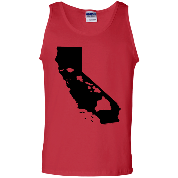 Living In Cali With Hawaii Roots 100% Cotton Tank Top, Sleeveless, Hawaii Nei All Day, Hawaii Clothing Brands