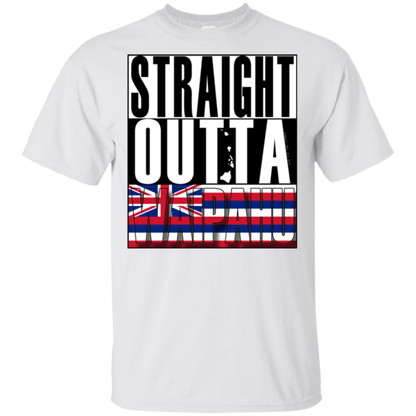 Straight Outta Waipahu Hawai'i Ultra Cotton T-Shirt, T-Shirts, Hawaii Nei All Day
