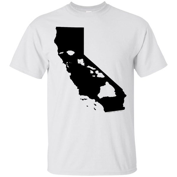 Living In California With Hawaii Roots Ultra Cotton T-Shirt, Short Sleeve, Hawaii Nei All Day