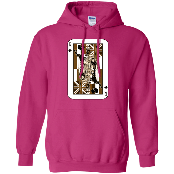 The King of Hawai'i Pullover Hoodie 8 oz, Hoodies, Hawaii Nei All Day, Hawaii Clothing Brands