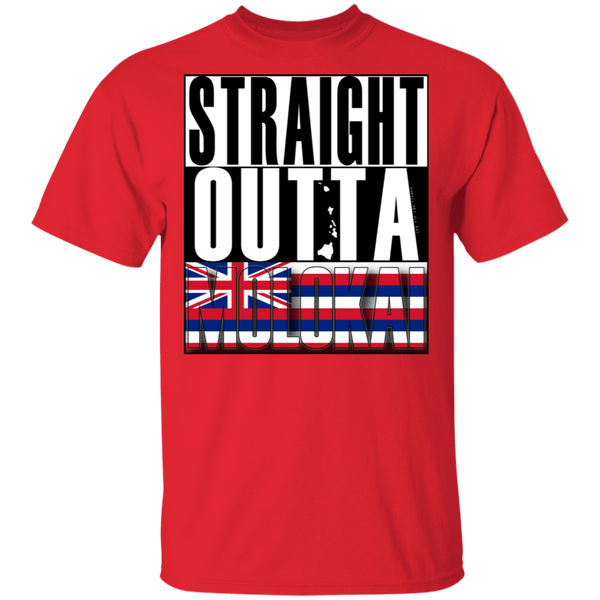 Straight Outta Molokai Hawaii T-Shirt