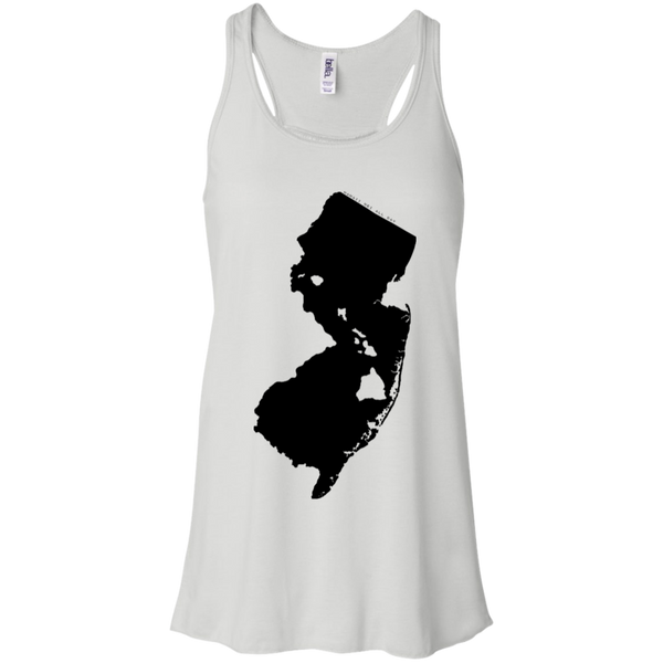 Living in New Jersey with Hawaii Roots Bella + Canvas Flowy Racerback Tank, T-Shirts, Hawaii Nei All Day, Hawaii Clothing Brands