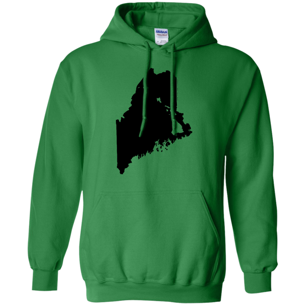 Living in Maine with Hawaii Roots Pullover Hoodie 8 oz., Sweatshirts, Hawaii Nei All Day