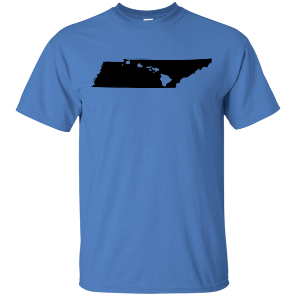 Living in Tennessee with Hawaii Roots Ultra Cotton T-Shirt, T-Shirts, Hawaii Nei All Day