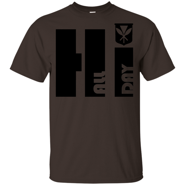 Hi All Day Kanaka Maoli Youth Ultra Cotton T-Shirt, T-Shirts, Hawaii Nei All Day