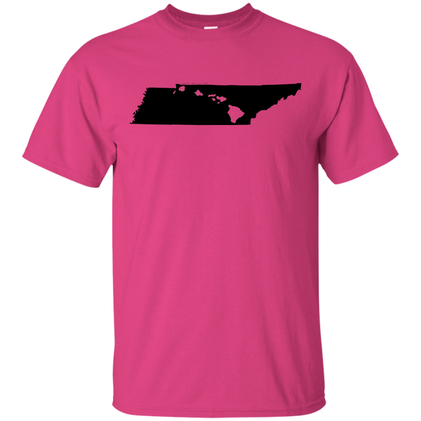 Living in Tennessee with Hawaii Roots Ultra Cotton T-Shirt, T-Shirts, Hawaii Nei All Day, Hawaii Clothing Brands