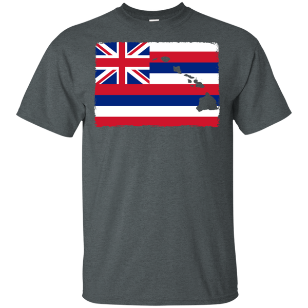 Hawai'i Aloha State Flag Ultra Cotton T-Shirt, T-Shirts, Hawaii Nei All Day