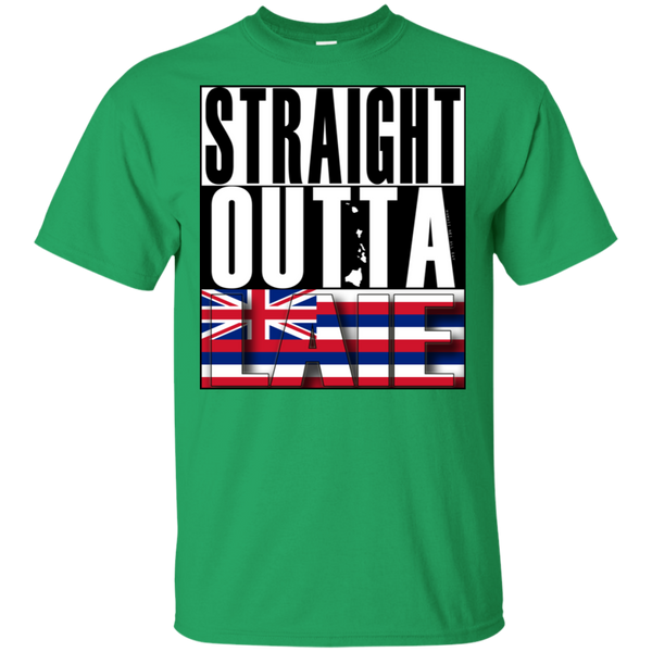 Straight Outta Laie Hawai'i Ultra Cotton T-Shirt, T-Shirts, Hawaii Nei All Day