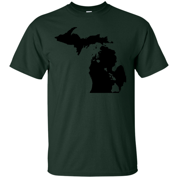Living in Michigan with Hawaii Roots Ultra Cotton T-Shirt, T-Shirts, Hawaii Nei All Day