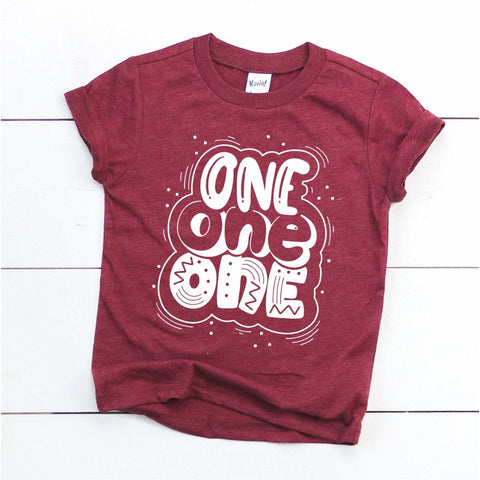 One One One | First birthday shirt