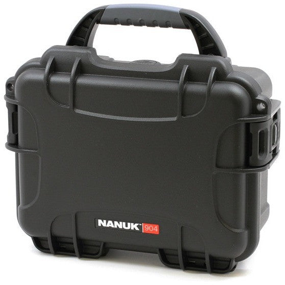 Black NANUK 904, Hard Case, Closed