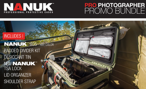 NANUK 935 PRO PHOTO BUNDLE, Rugged Cases, Plasticase Inc, Tough Cases