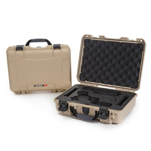 Nanuk 910 2 Up Glock Pistol Case, Rugged Cases, Plasticase inc, Tough Cases