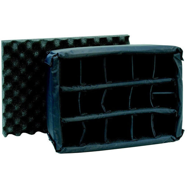 Padded Divider with egg shell foam insert for Nanuk cases, Insert, Plasticase Inc, Tough Cases