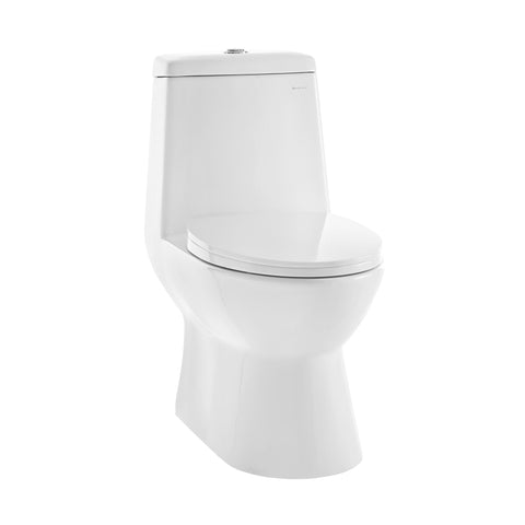 Discontinued - Sublime One Piece Elongated Toilet Dual Flush