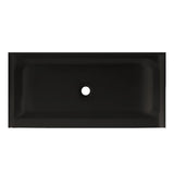 "Voltaire 60"" X 30"" Center Drain, Shower Base in Black"
