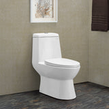 Discontinued - Sublime One Piece Elongated Toilet Dual Flush 0.8/1.28 gpf