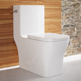 Concorde One Piece Square Left Side Flush Handle Toilet