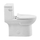 Daxton One-Piece Elongated Left Side Flush Toilet 1.28 GPF